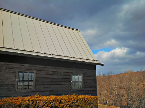 Kynar Finished Steel Standing Seam Roof – Amenia, NY