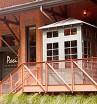 Zinc Standing Seam Roof – Paci Restaurant Entrance, Southport, CT